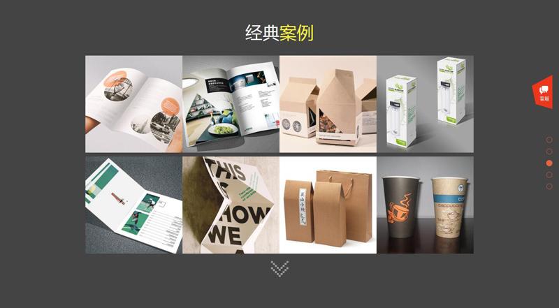 印刷包装网站效果图3